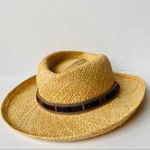 Vintage Woven Casual Dress Hat